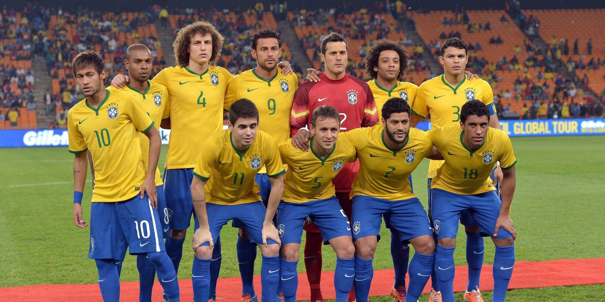 Brazil Soccer Team Wallpaper: Brazil Team 2018 Wallpapers