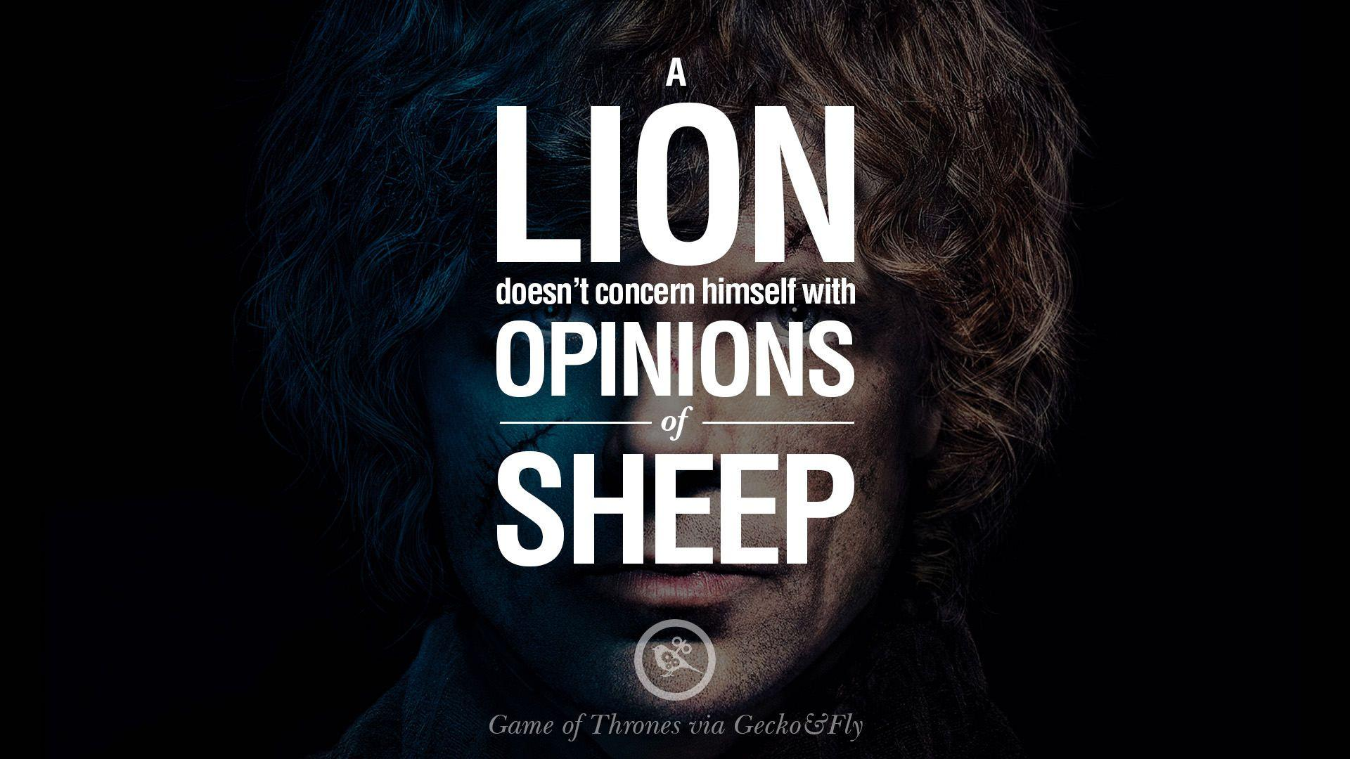 Game Of Thrones Quotes Wallpapers Wallpaper Cave