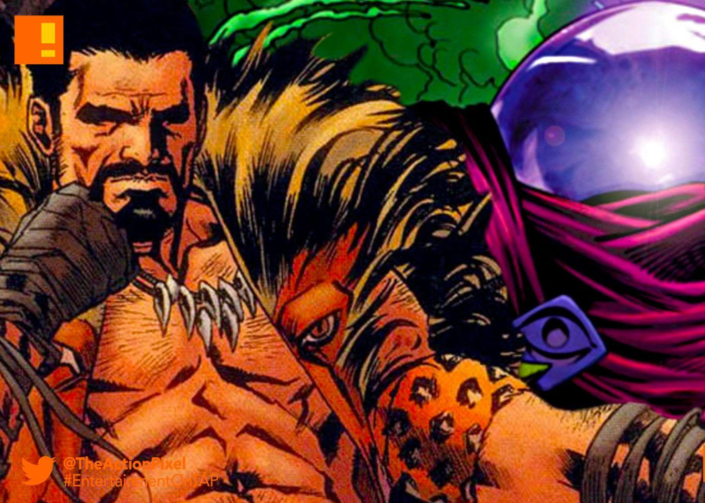 "Mysterio"" and ""Kraven The Hunter"" – Sony upcoming 'Spider"