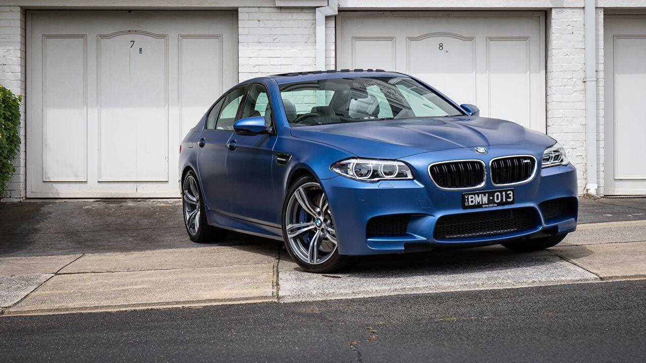 Pictures BMW F10 Sedan Blue Cars