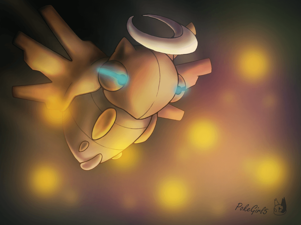 Shedinja used Confuse Ray by PokeGirl5 on DeviantArt