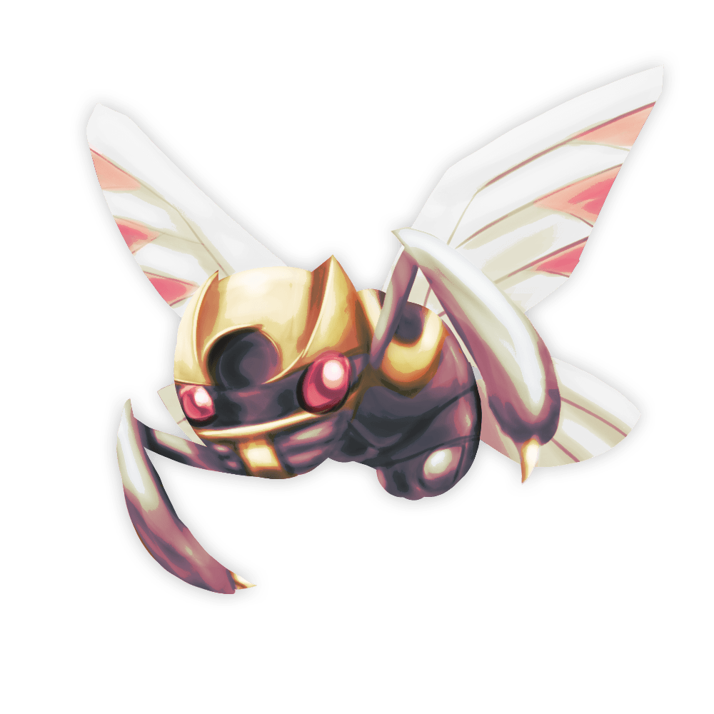 Ninjask by Zedrin