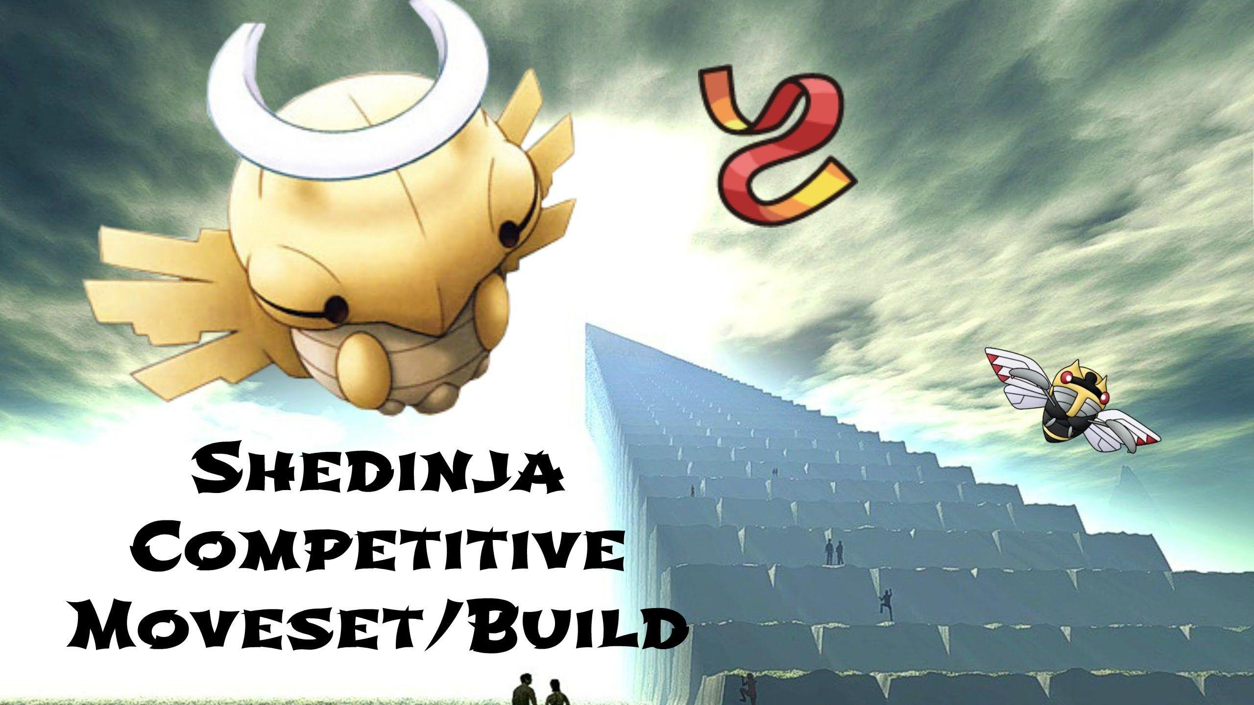 Shedinja Pokemon XY Competitive Moveset/Build! - Wonder Sash! - YouTube