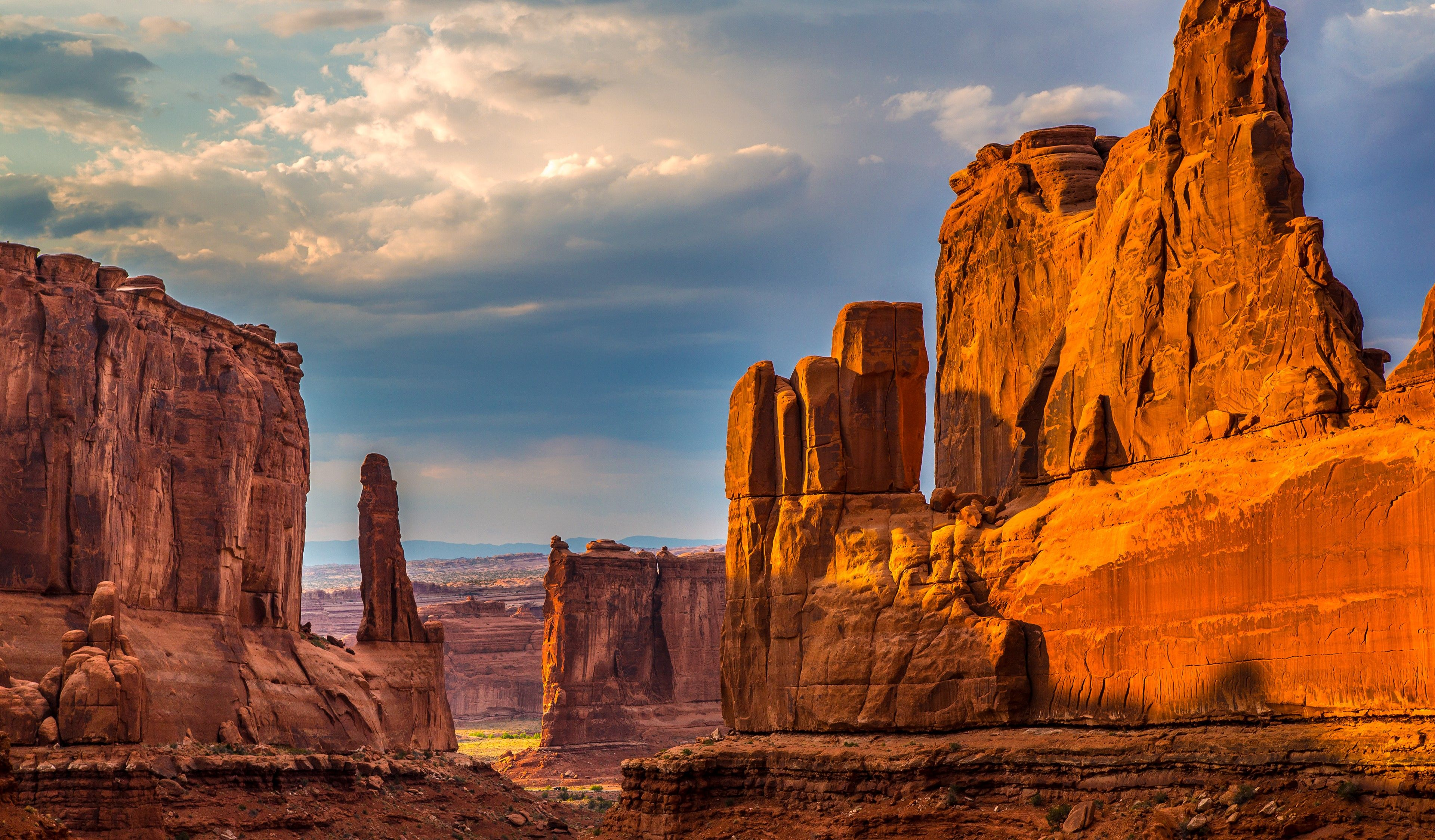 landscapes, rocks, USA, Arches National Park, Utah :: Wallpapers