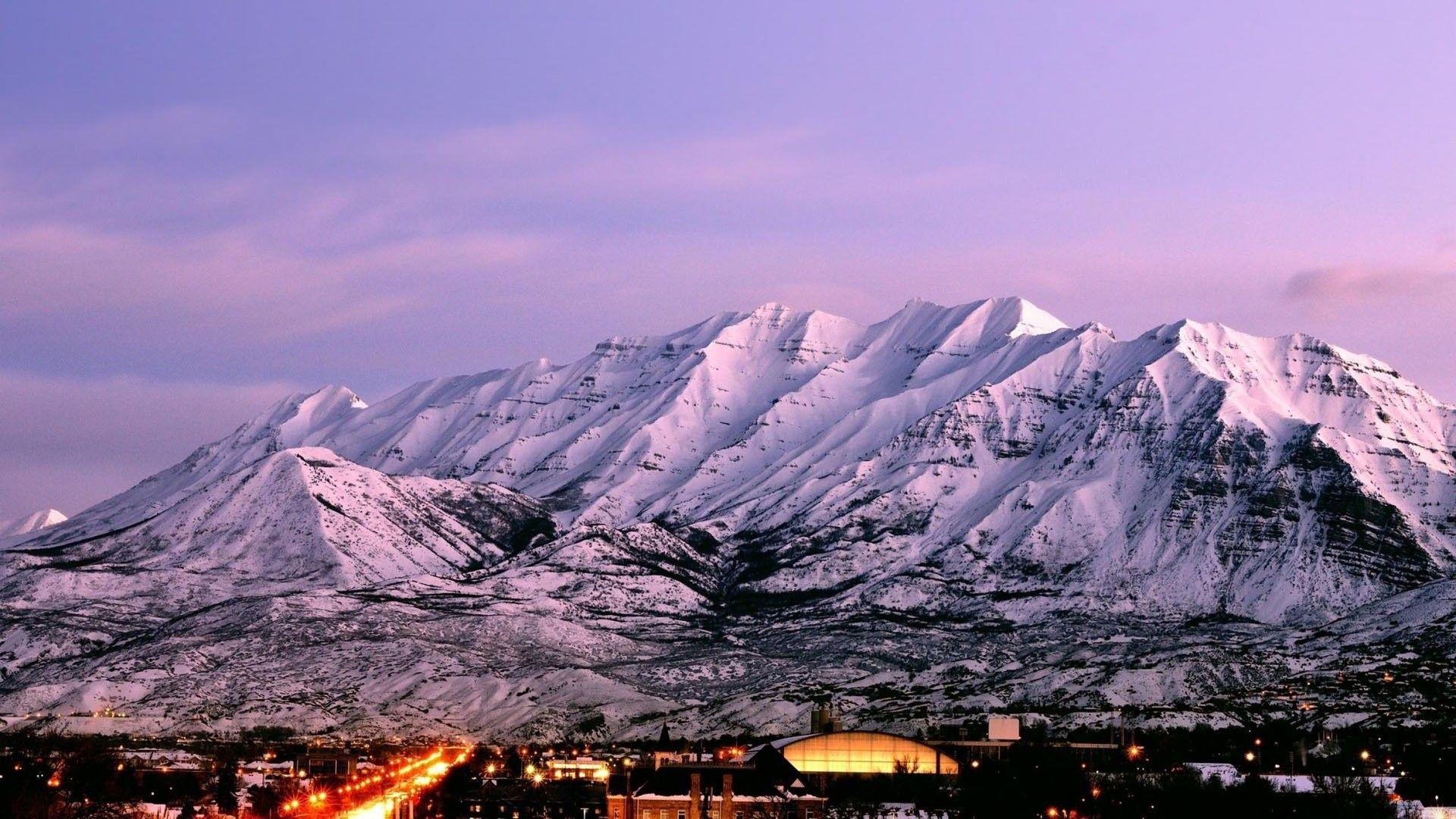 Mountain Utah Ranges Landscape Scenic Wallpapers High Resolution ...