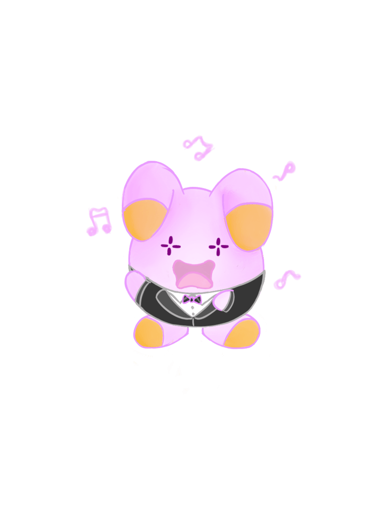 Singing Whismur by Anipzis