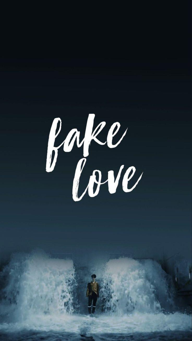 Bts Fake Love Wallpapers Wallpaper Cave