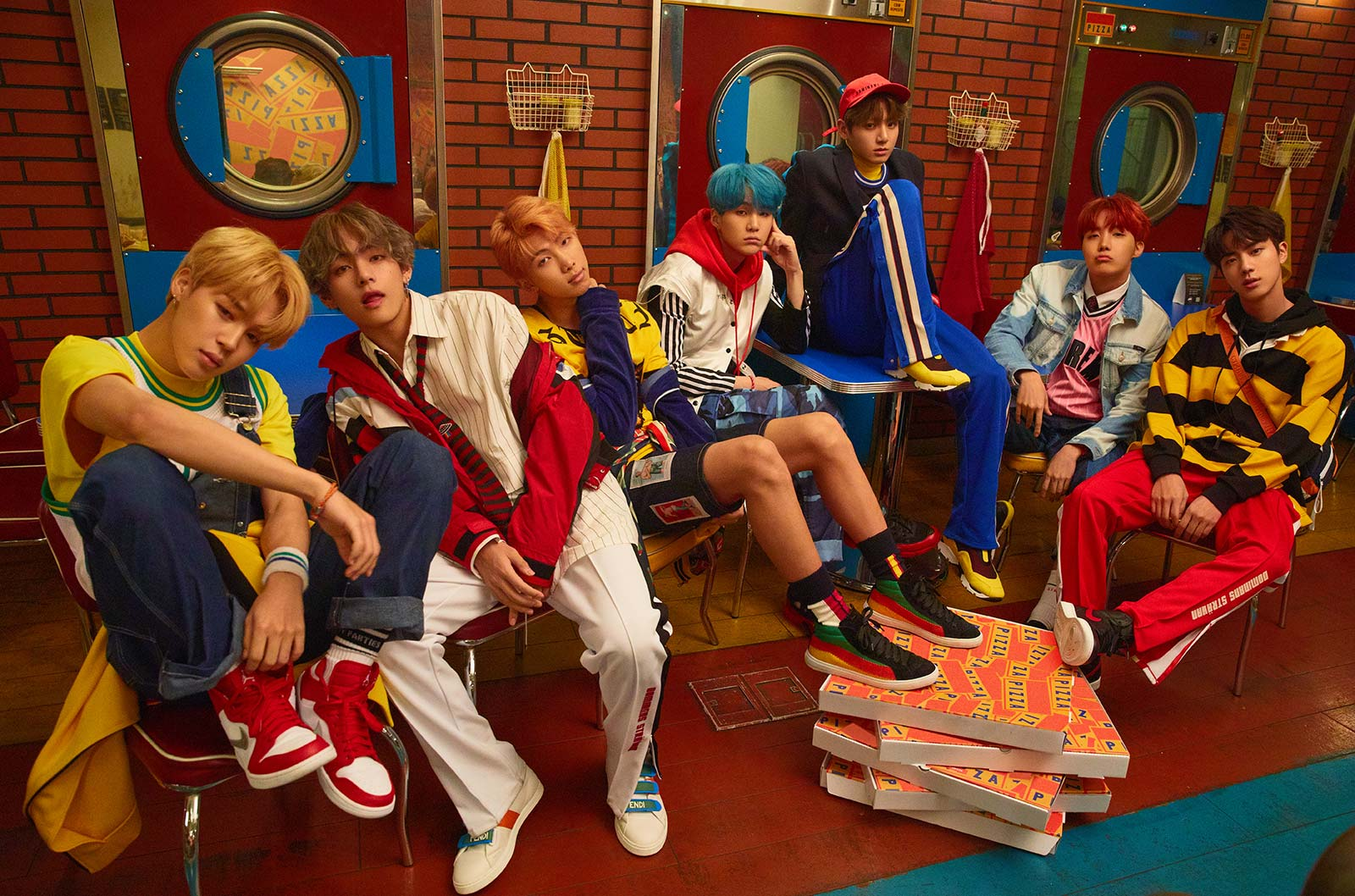 BTS Goes For Bright And Colorful Concepts In New Love Yourself: Her
