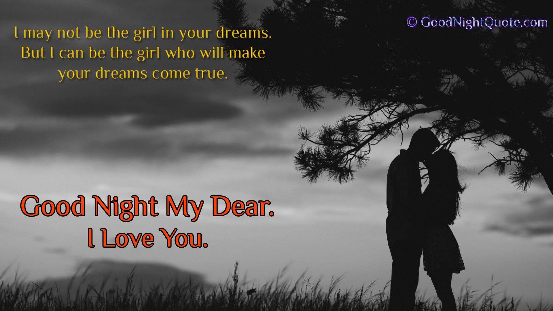 Beautiful Romantic Good Night Wallpaper