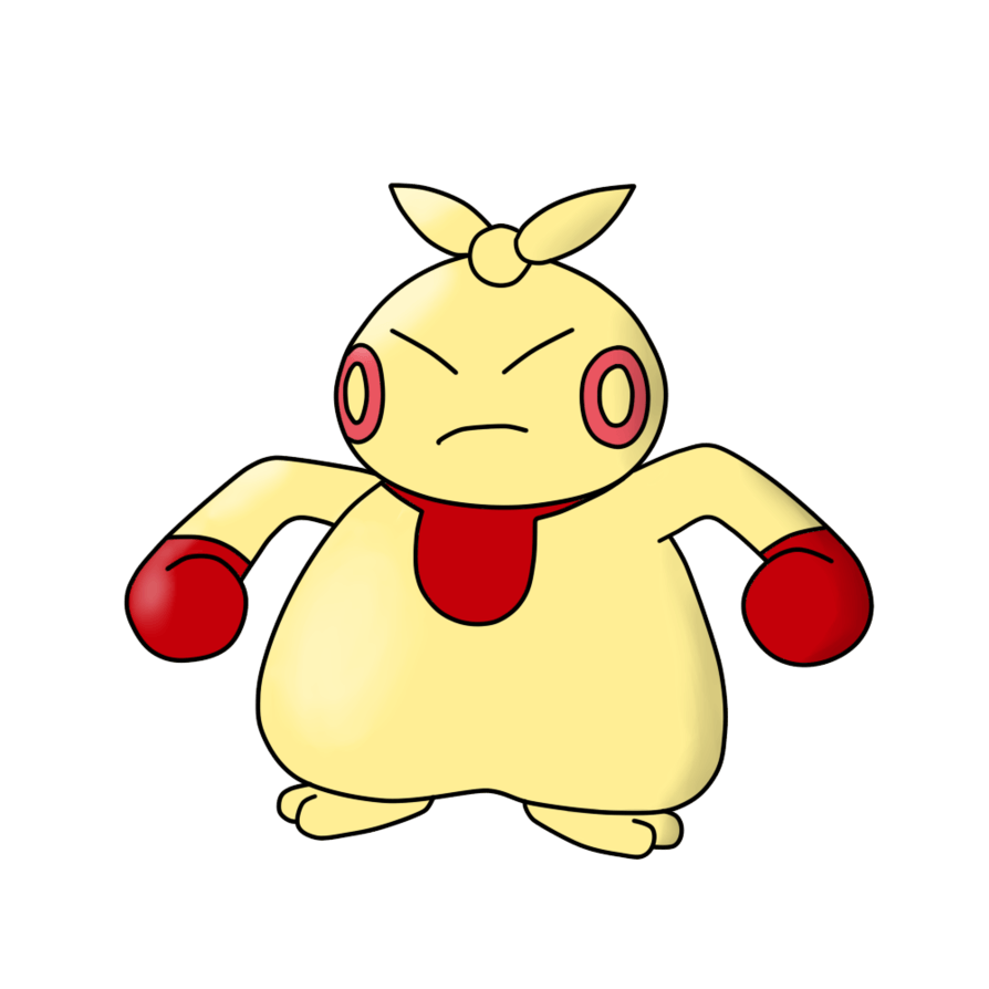 296 Makuhita (Shiny) - Type Collab: Fighting by RobbyCobalt on ...