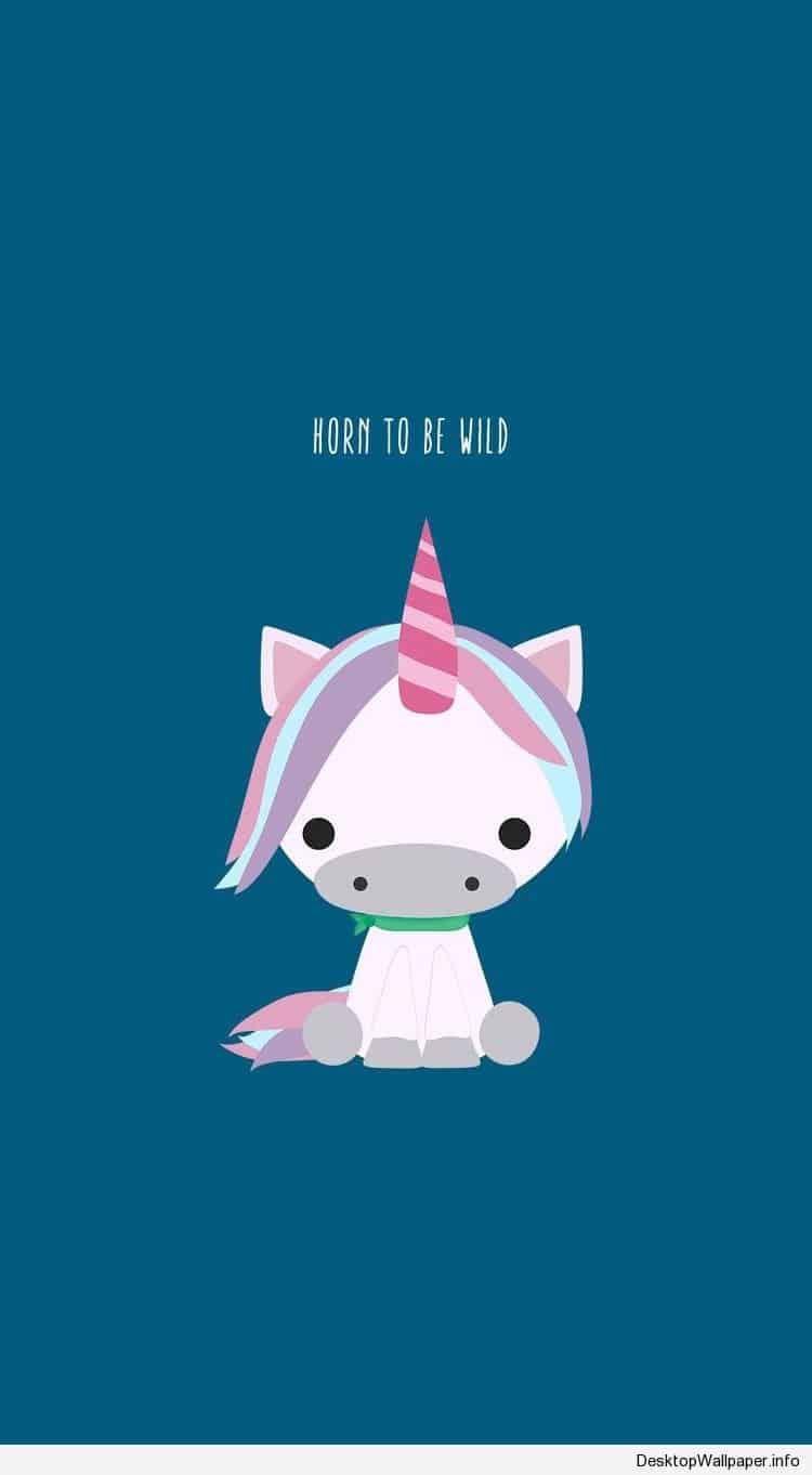 cute cartoon unicorn wallpaper | Desktop Wallpapers