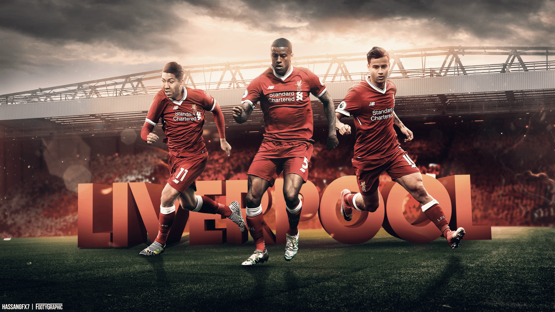 Liverpool Players 2018 Wallpapers