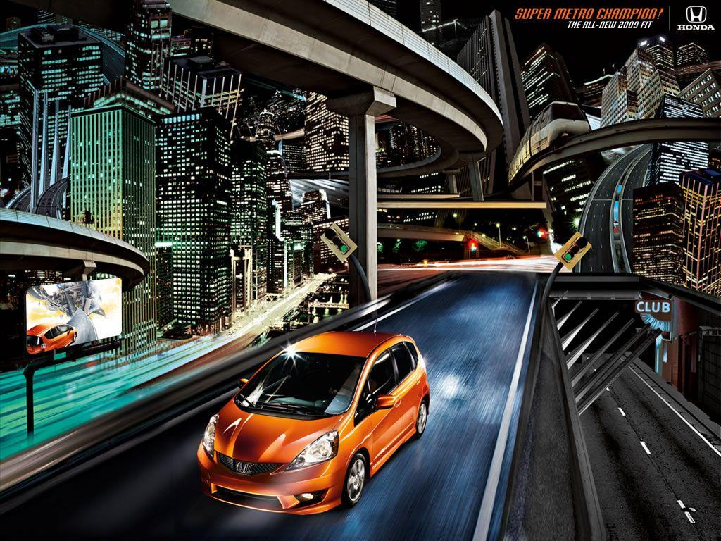 2009 USDM Fit Wallpapers, Icons, & Myspace Theme - Unofficial Honda ...