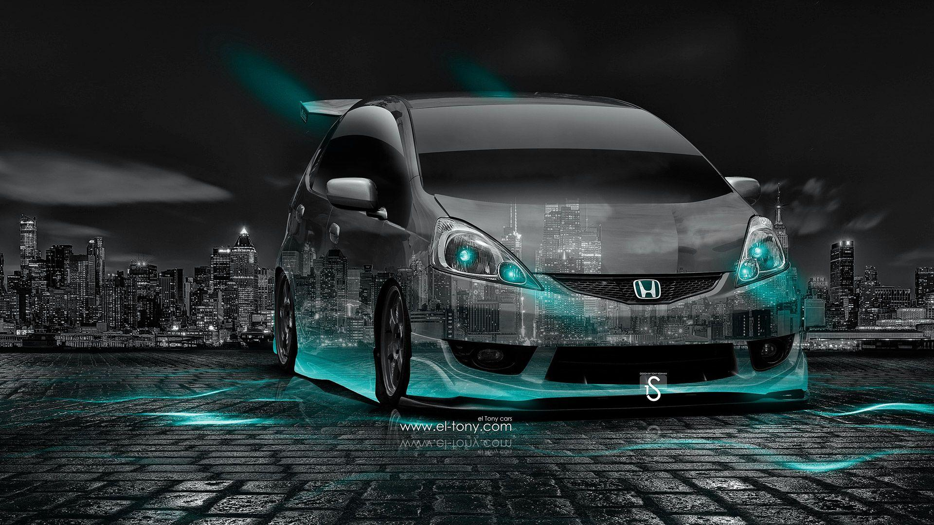 Honda Fit RS JDM Tuning Crystal City Car 2014