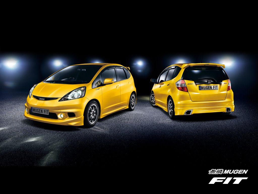 H D wallpapers: Honda Fit