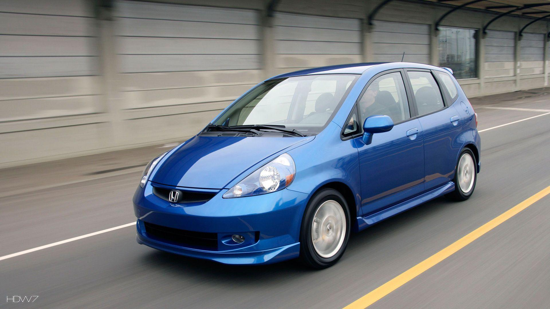 honda fit sport 2007 car hd wallpapers