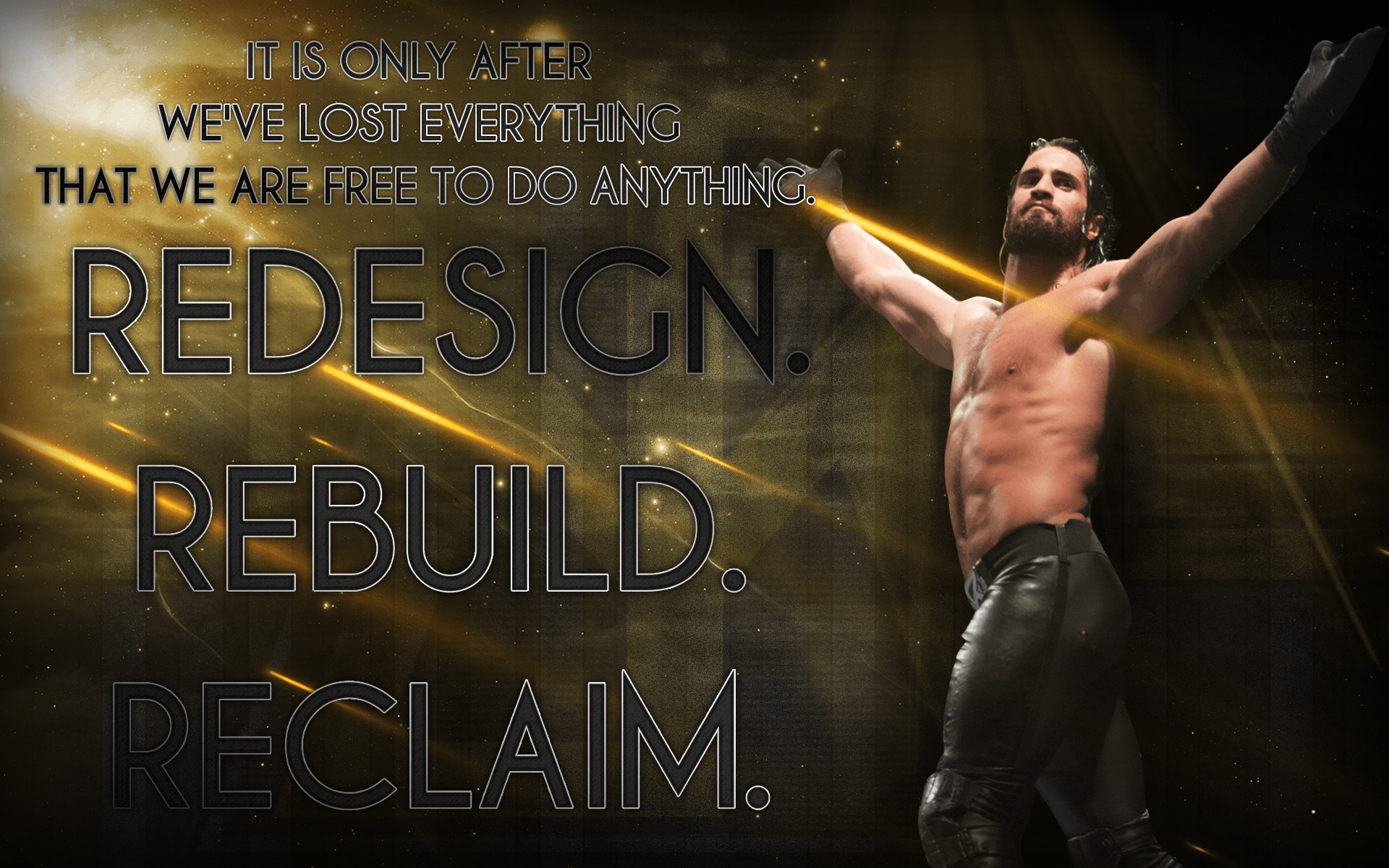 Seth Rollins 2018 Wallpapers