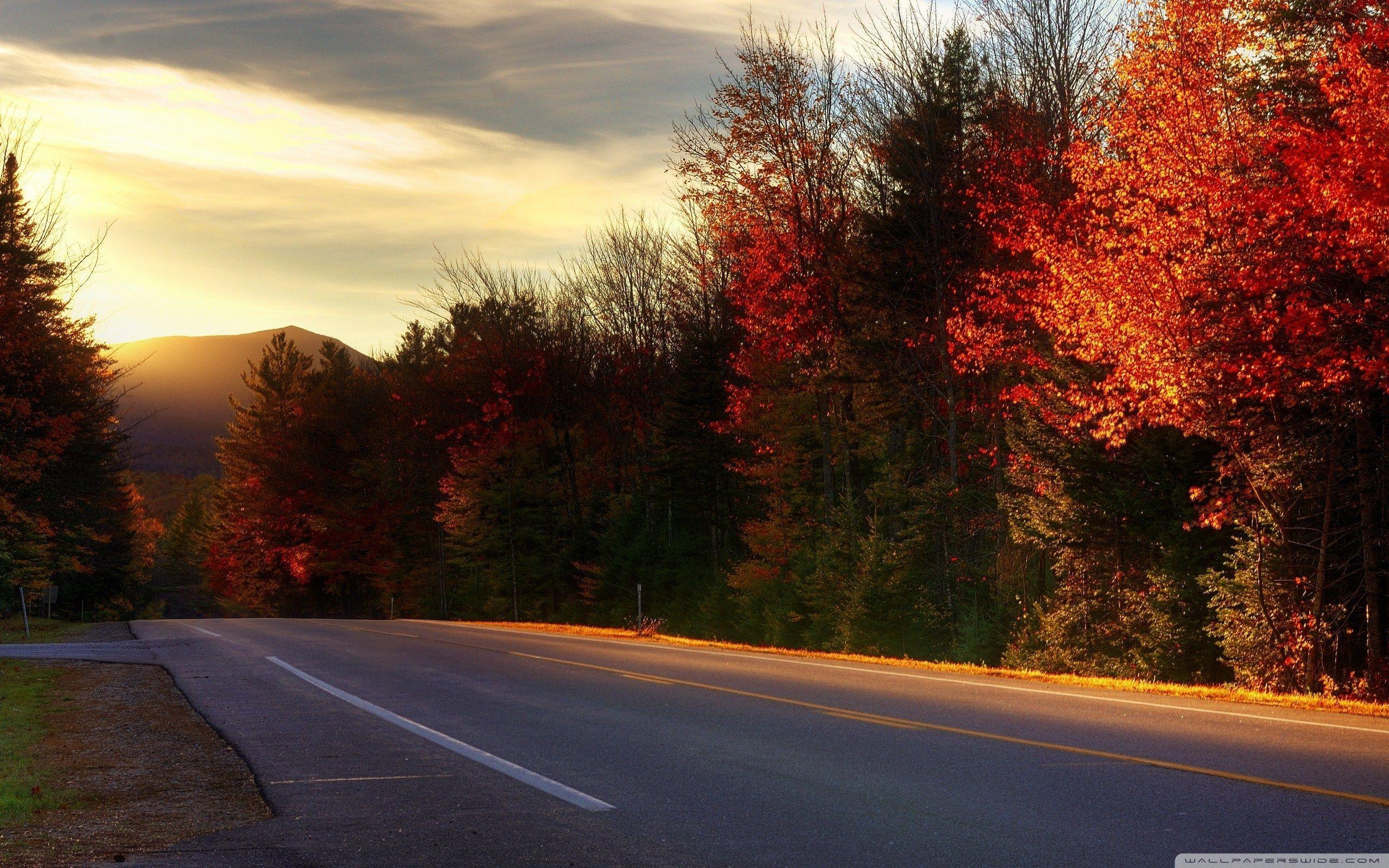 Road In New Hampshire ❤ 4K HD Desktop Wallpapers for 4K Ultra HD TV