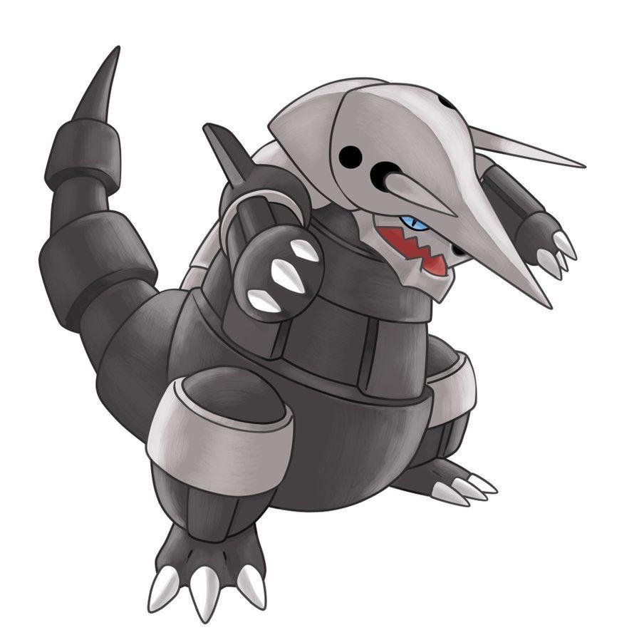 306 - Aggron by nganlamsong on DeviantArt