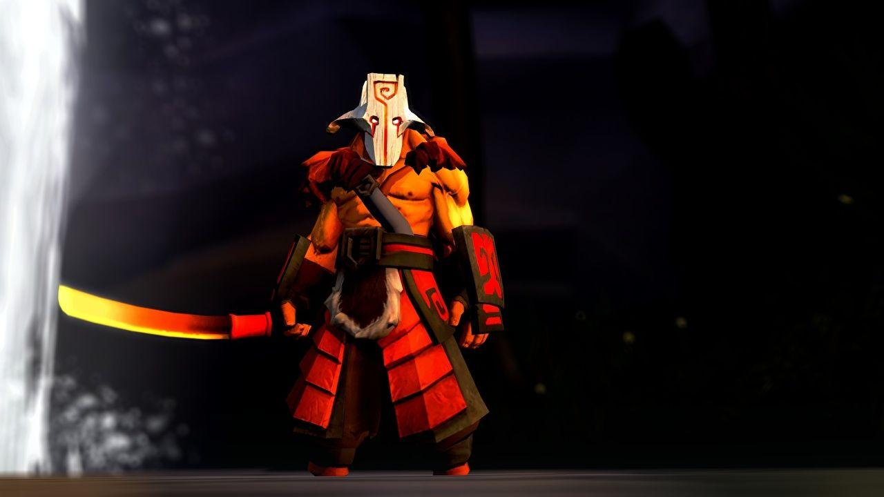 DOTA 2 Juggernaut Sabre Warriors Fantasy 3D Graphics Games