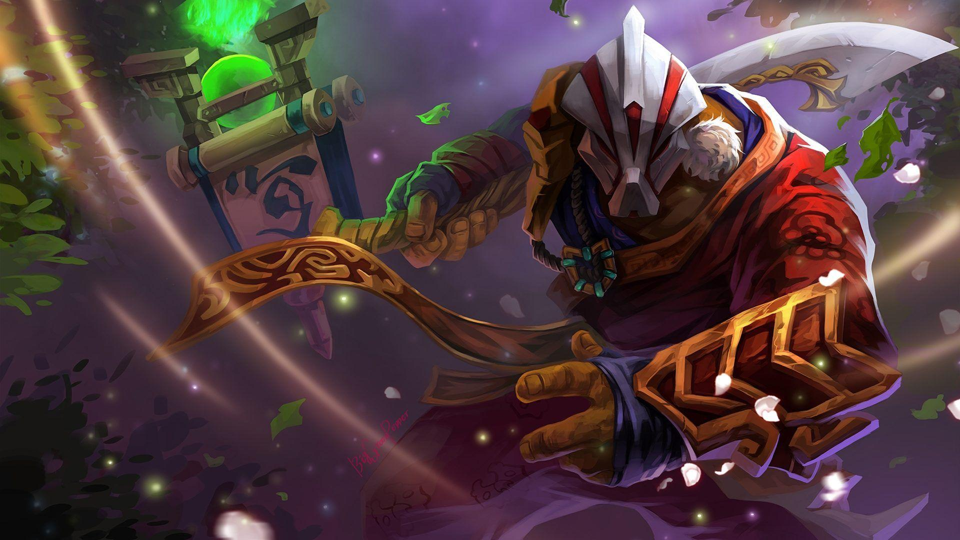 Dota 2 Fanart Wallpapers Hd Juggernaut Arcana 1920x1200 ...