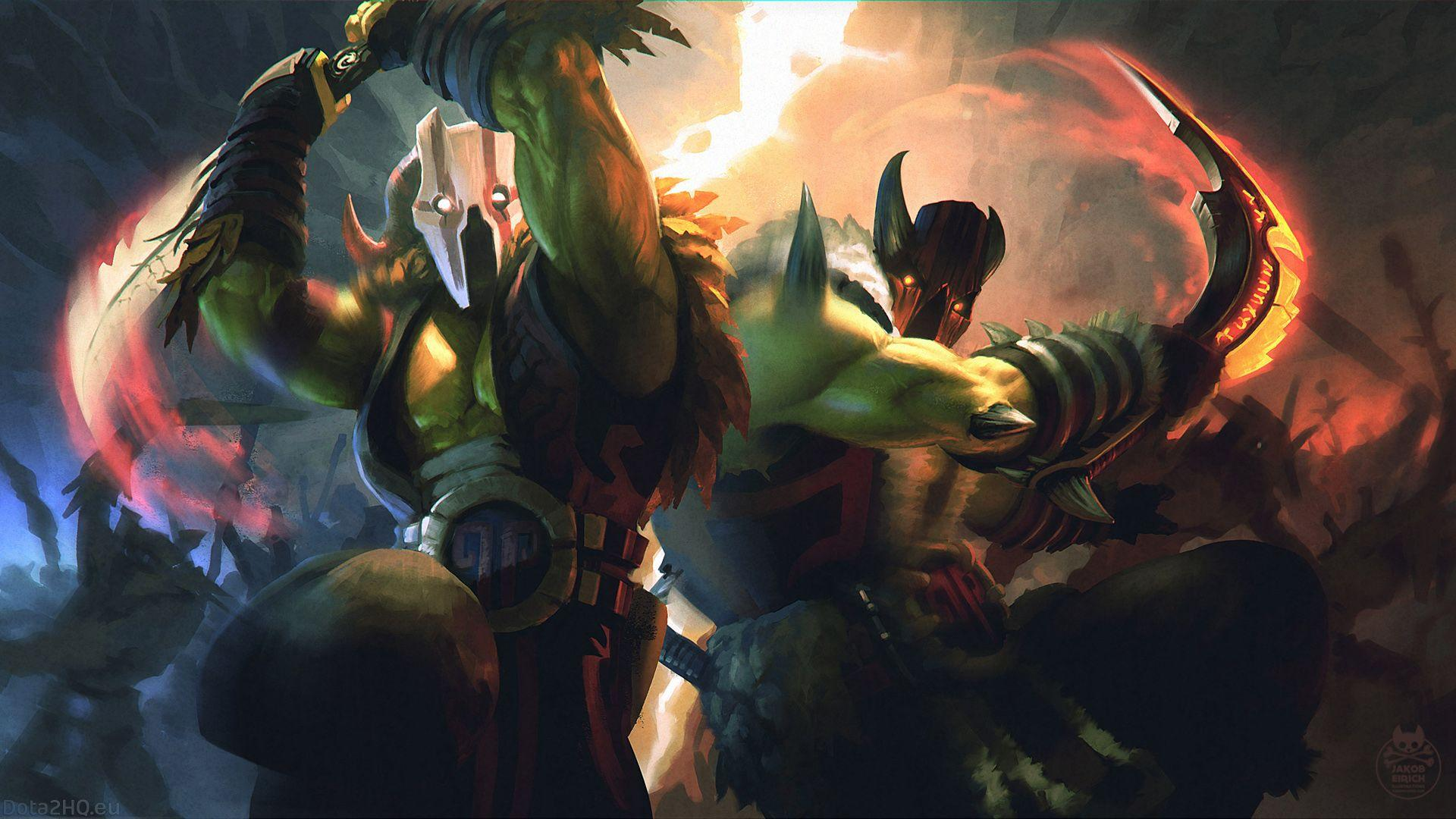 Juggernaut [Dual Nature Loading Screen] - DOTA 2 Wallpapers