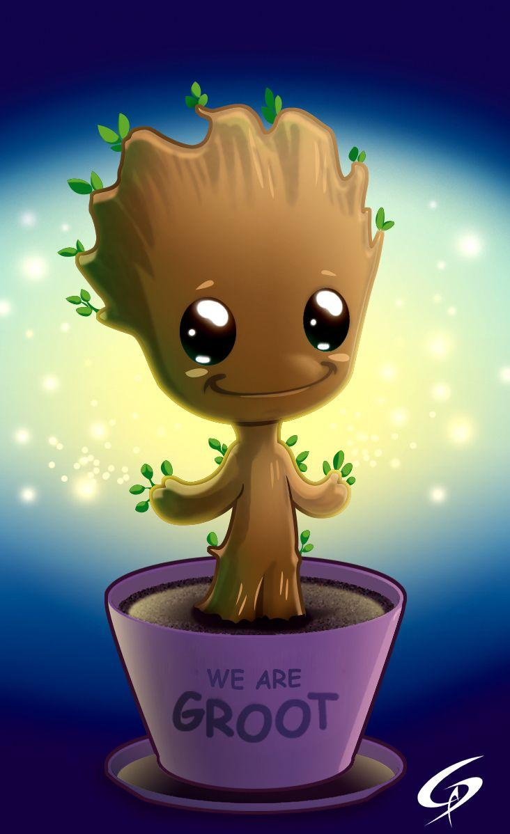 I AM GROOT. by ChasingArtwork