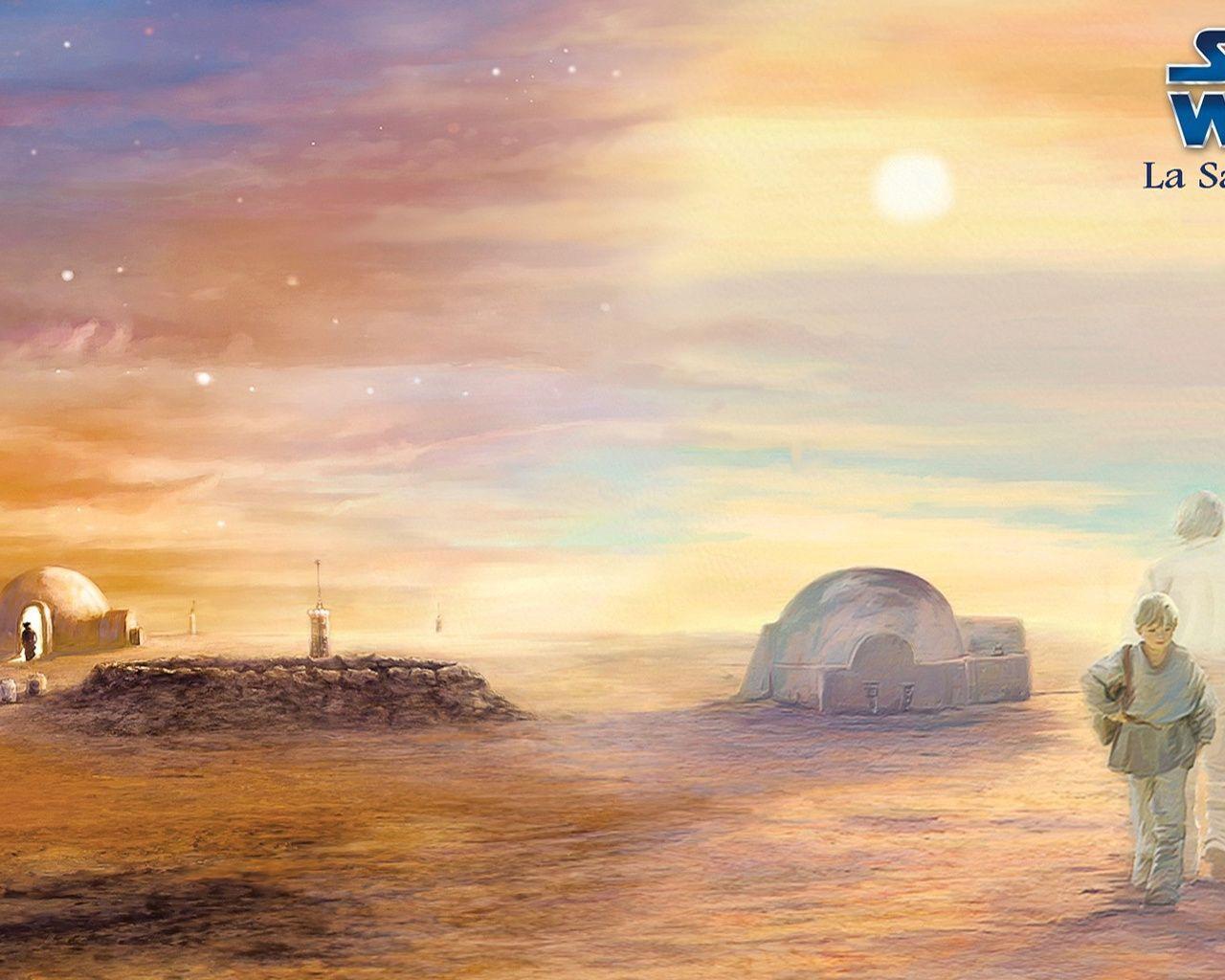 Tatooine Wallpapers Wallpaper Cave