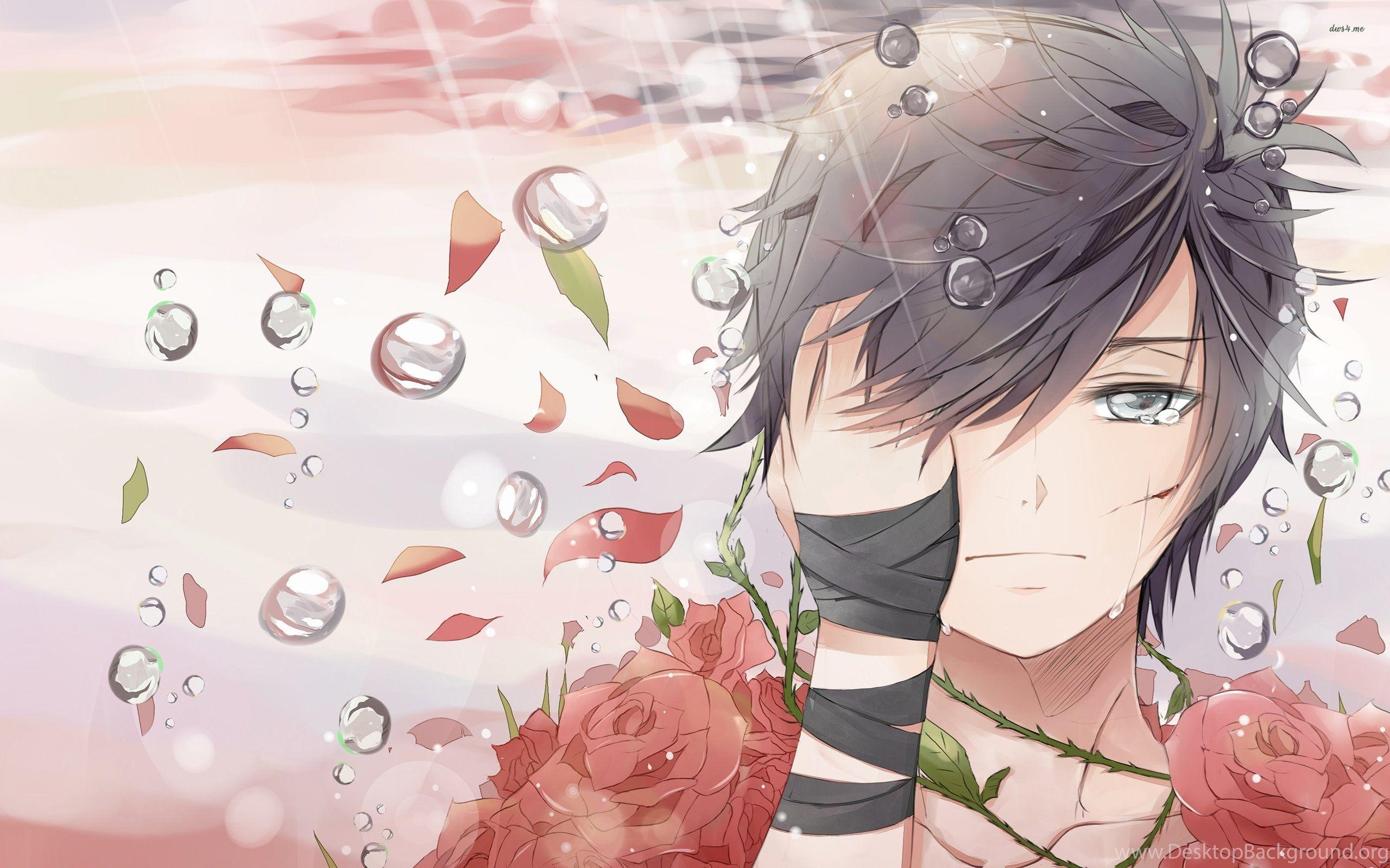 Anime Boy Sad Wallpapers - Wallpaper Cave