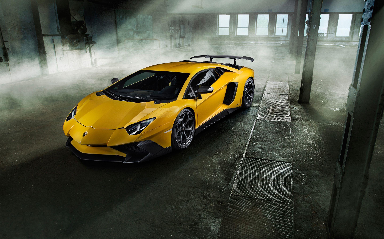 Yellow Lamborghini Wallpapers Wallpaper Cave