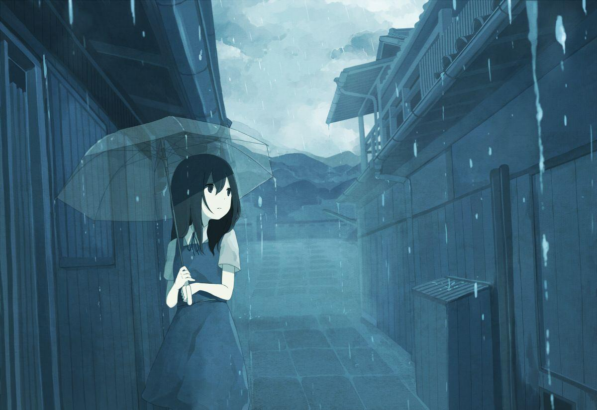 Sad Anime Girl Wallpapers - Wallpaper Cave