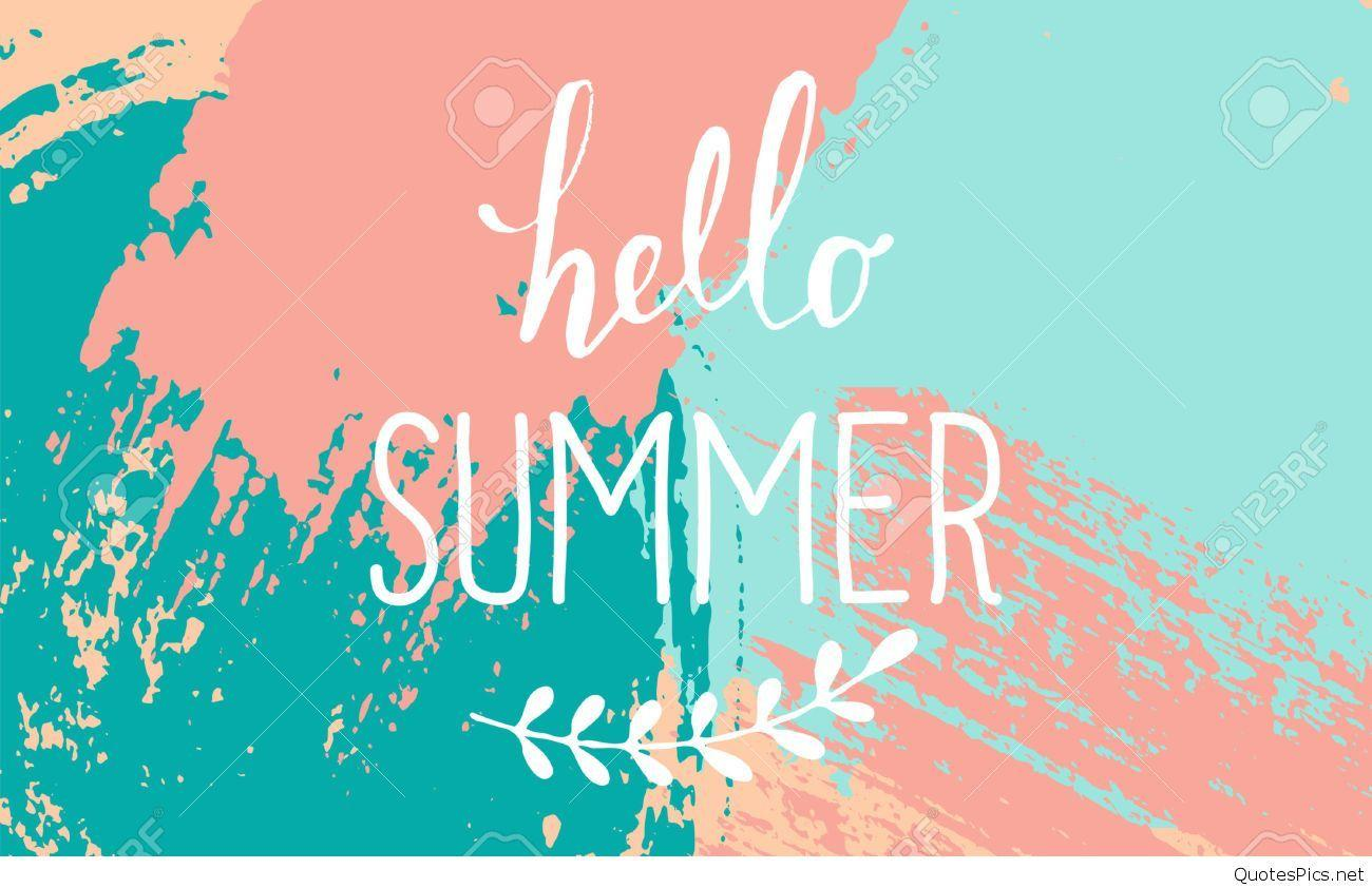 Hello Summer Wallpapers Wallpaper Cave