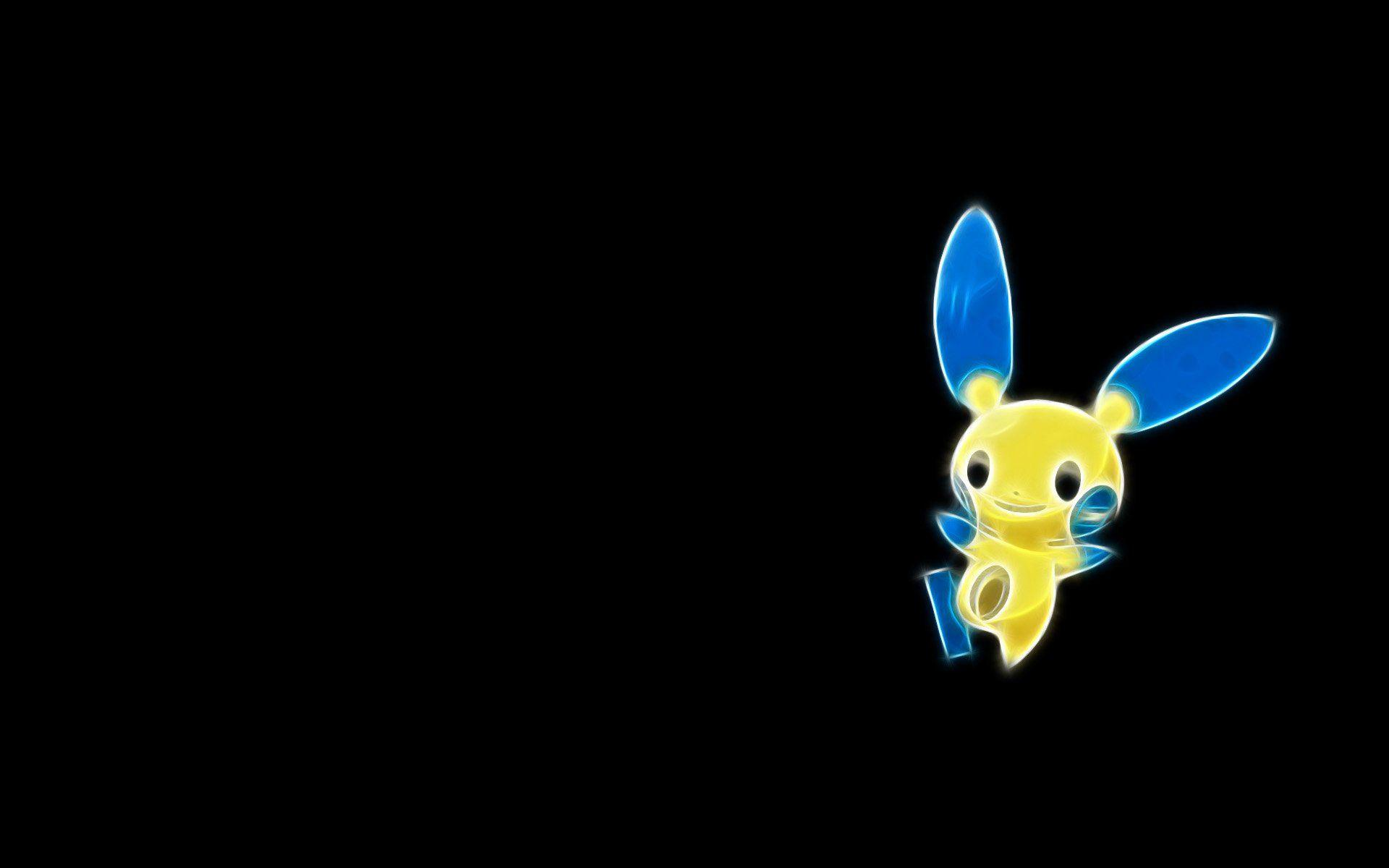 8 Minun (Pokémon) HD Wallpapers | Background Images - Wallpaper Abyss