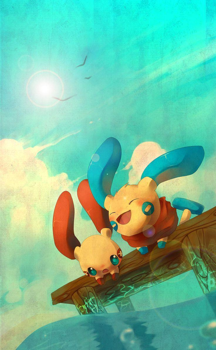 25 best plusle and minun image