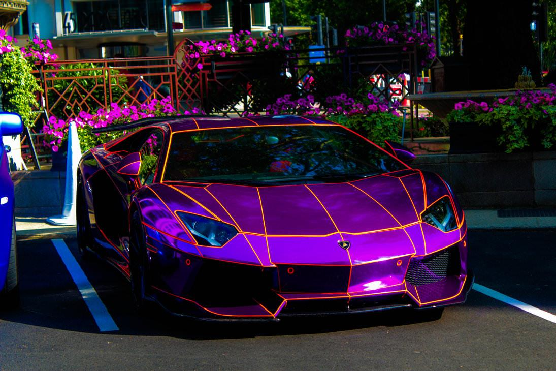 Purple Lamborghini Wallpapers Wallpaper Cave