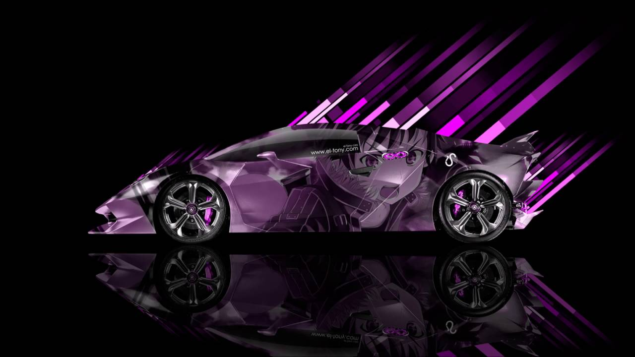 Purple Lamborghini Wallpapers Wallpaper Cave