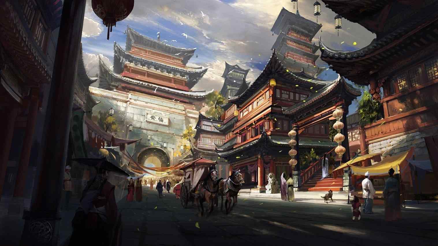 Japanese Anime Wallpapers Wallpaper Cave