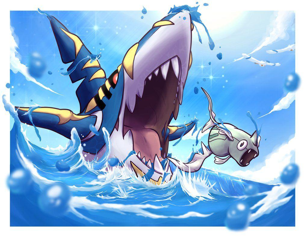 MEGA SHARPEDO by SiegeEvans