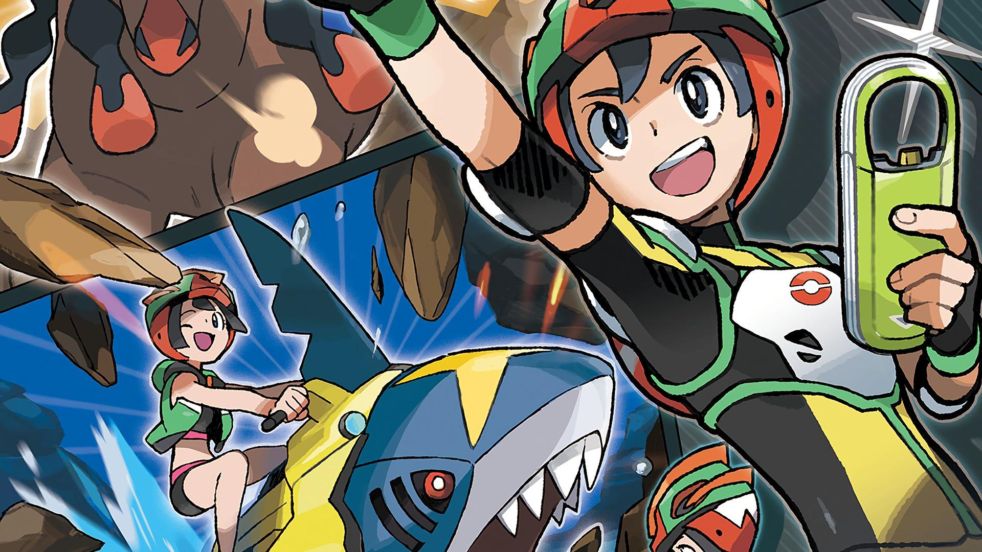 Sharpedo Poke Ride Pokemon Sun and M... Wallpapers