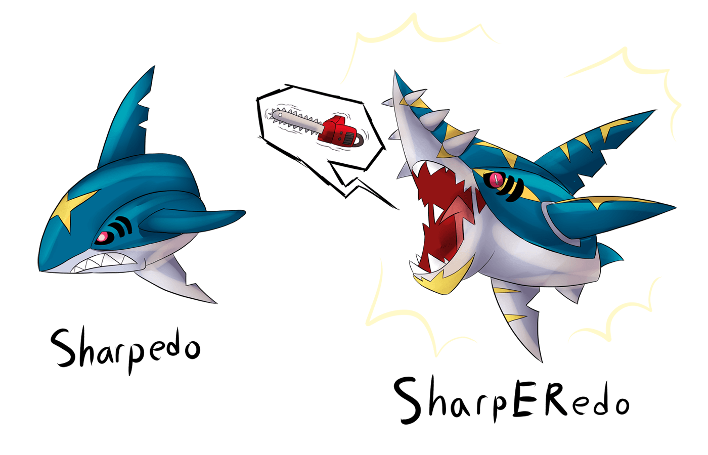 Mega Sharpedo... by Drakithu