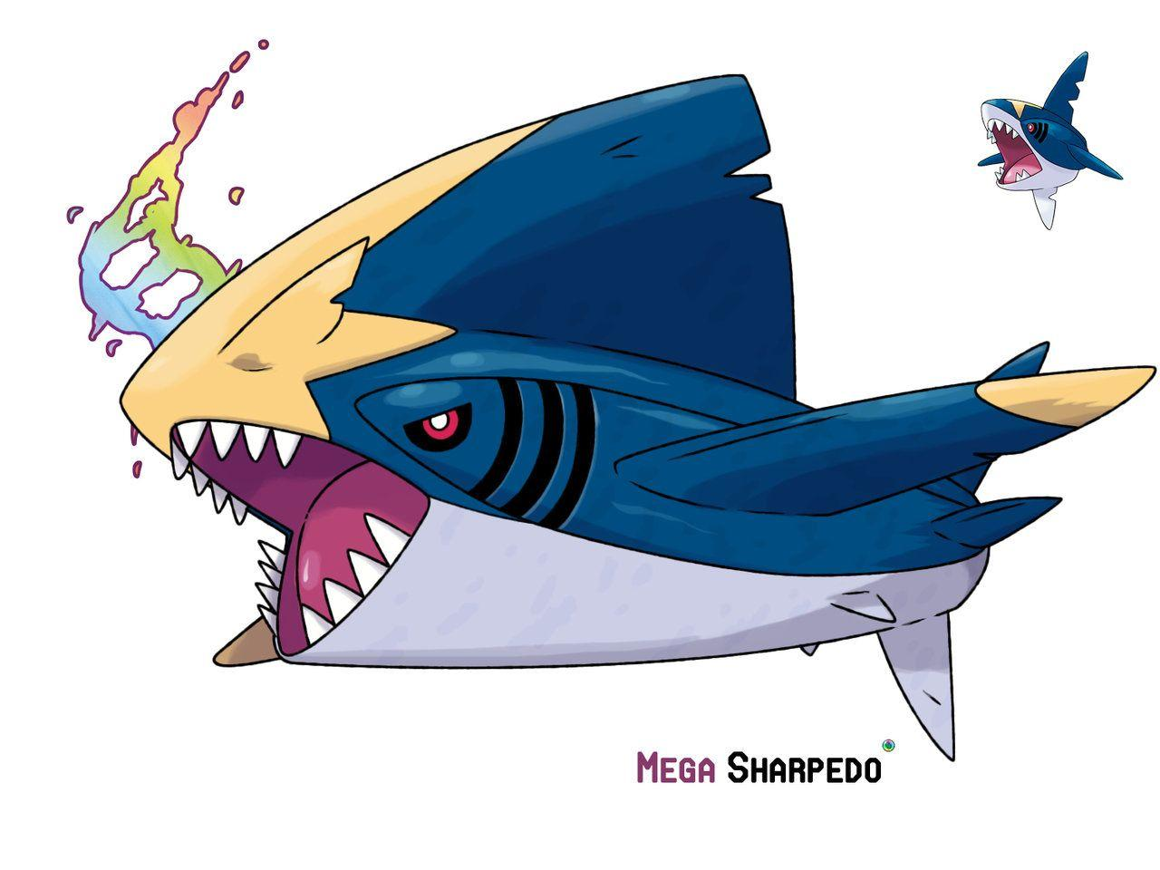 Sharpedo by LeafyHeart