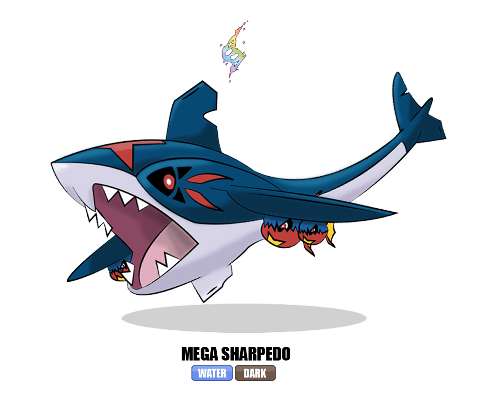 319 Mega Sharpedo by Otchono