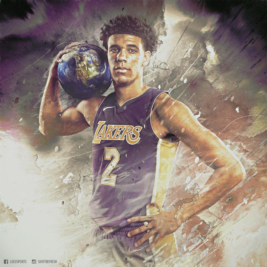 Lonzo Ball - World is Yours - NBA Wallpaper by skythlee on DeviantArt