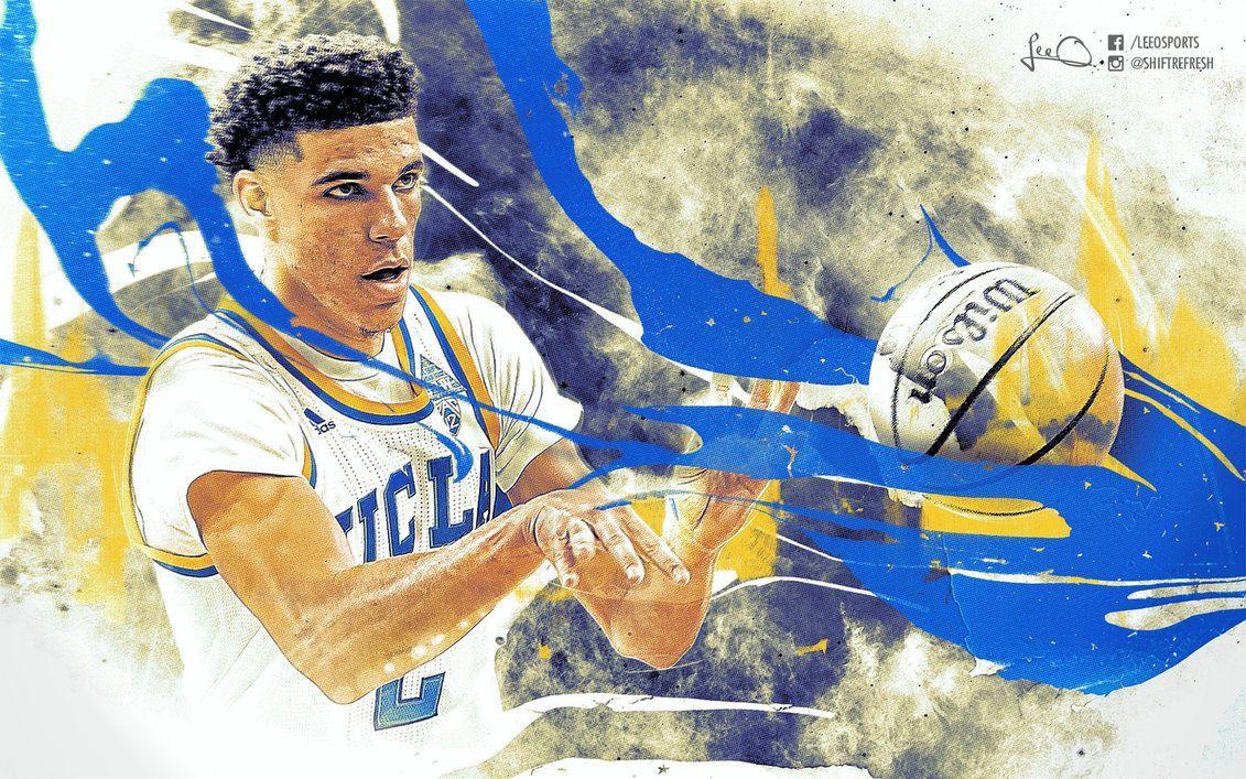Lonzo Ball UCLA Wallpaper By Skythlee On DeviantArt