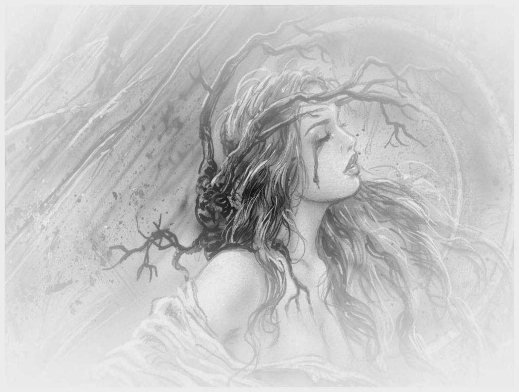 Photos girl pencil drawing hd wallpapers download drawings art
