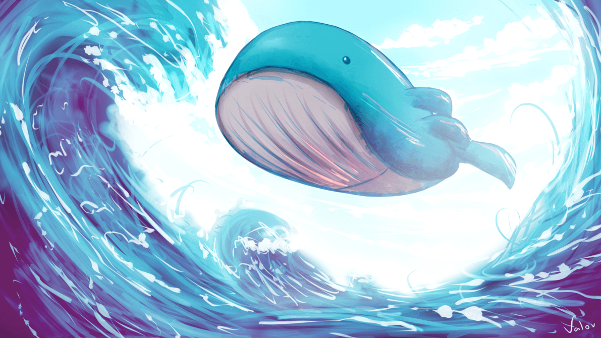 Flying Wailord! by jkz123pl