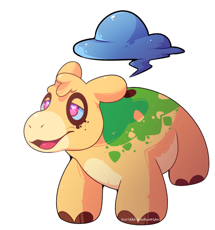 NUMEL by Nitara-Nowrungsah on DeviantArt