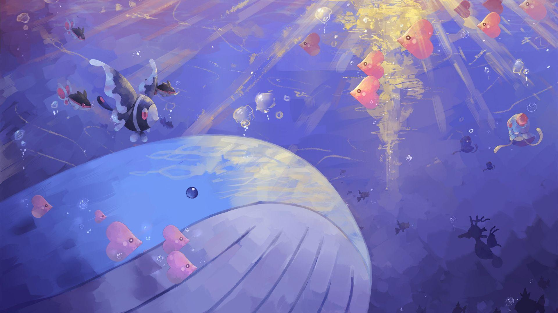 1920x1080 pokemon, wailord desktop wallpapers 40722