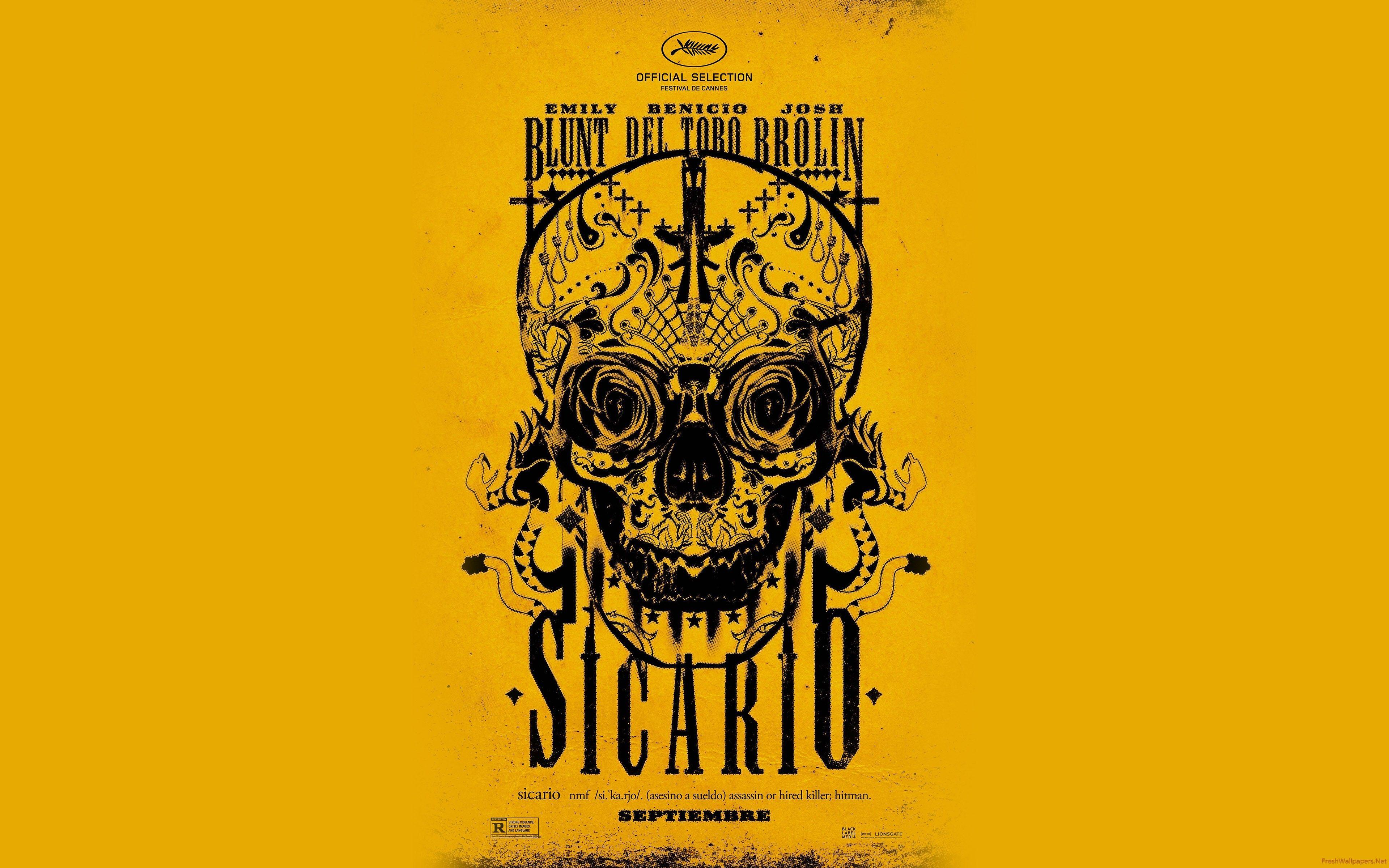 Sicario 2015 Official Movie wallpapers