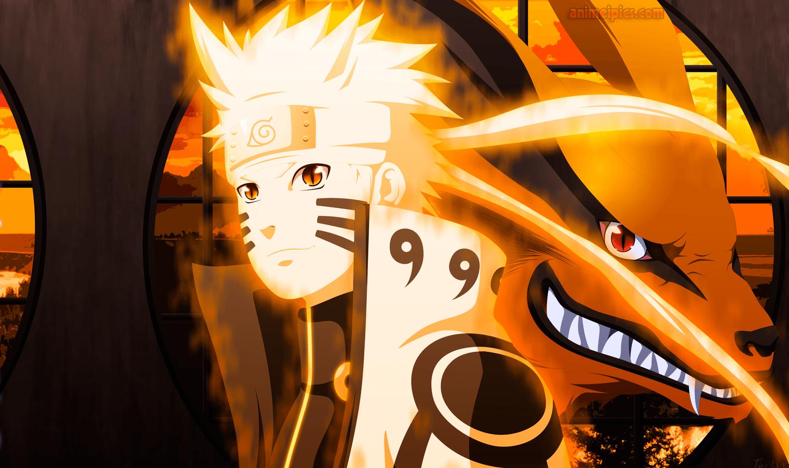 Naruto Shippuden Nineed Fox Mod Hd Wallpaper Background Images